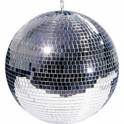 40 см к-т огледална сфера - диско топка