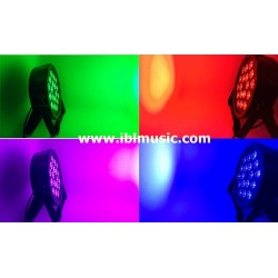 LED PAR RGBW 18x8