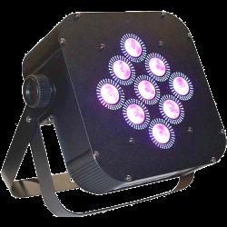 LED PAR RGBW 9x10W